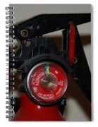 Fire Extinguisher Spiral Notebook