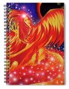Fire Fairy Spiral Notebook