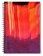 Fire Fence Spiral Notebook