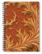 Fire Fern Spiral Notebook