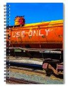 Fire Fighting Tanker Spiral Notebook