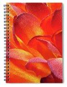 Fire Flower Spiral Notebook
