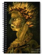 Fire Spiral Notebook