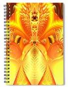 Fire Goddess Spiral Notebook