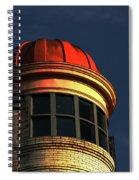 Fire Helmet Building Spiral Notebook