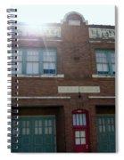 Fire House Spiral Notebook