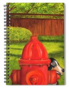 Fire Hydrant Dog Spiral Notebook