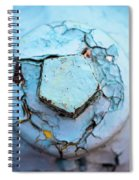 Fire Hydrant Pentagon Spiral Notebook