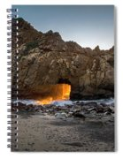 Fire In The Hole Spiral Notebook
