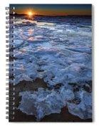 Fire Island Winter Spiral Notebook