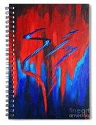 Fire Lake Spiral Notebook