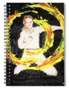 Fire Man Spiral Notebook