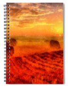 Fire Of A New Day Spiral Notebook