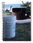 Fire Prevention - Vanvouver Island - Ca Spiral Notebook