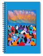Fire Rainbow Obama Spiral Notebook