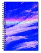 Fire Rainbow Spiral Notebook