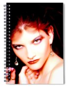 Fire Red Spiral Notebook