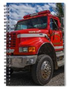 Fire Rescue Spiral Notebook