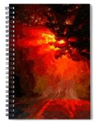 Fire Road Spiral Notebook