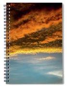 Fire Sky Spiral Notebook