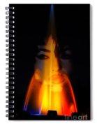 Fire Spirit Spiral Notebook