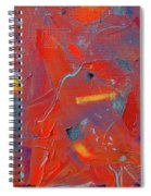 Fire Storm Spiral Notebook