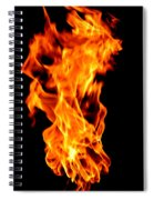 Fire The 3rd Element Michigan Spiral Notebook