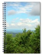 Fire Tower View - Pipestem State Park Spiral Notebook