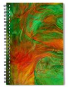 Fire Tree Spiral Notebook