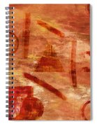 Fire Triangle Spiral Notebook