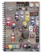Fire Truck Controls Spiral Notebook