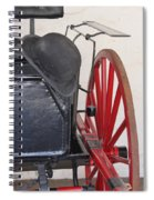 Fire Wagon Spiral Notebook