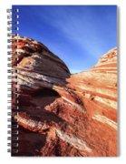 Fire Wave Spiral Notebook