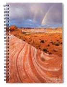 Fire Wave Covenant Spiral Notebook