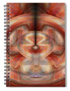 Fire Wheel Spiral Notebook