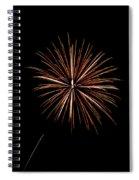 Fire Works Spiral Notebook