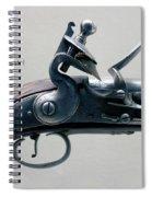 Firearms 1746 British Flintlock Horse Pistol Spiral Notebook