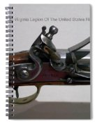 Firearms 1792 Virginia Legion Of The United States Rifle Spiral Notebook