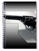 Firearms Tv Gunsmoke Marshall Dillon Colt Model 1873 Army Revolver Spiral Notebook
