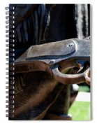 Firearms William Cody Statue Cody Wyoming Spiral Notebook