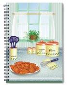 Fried Chicken Spiral Notebook