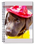 Firefighter Pup Spiral Notebook