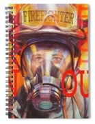 Firefighter Spiral Notebook