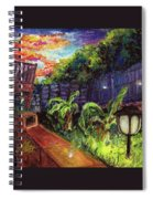 Fireflies In Woodfin Spiral Notebook