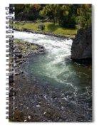 Firehole Bend Spiral Notebook