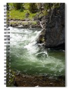 Firehole Canyon 1 Spiral Notebook