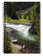 Firehole Canyon 2 Spiral Notebook