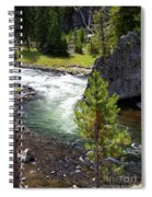 Firehole Fin Spiral Notebook