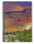 Firehole Lake Yellowstone National Park Spiral Notebook