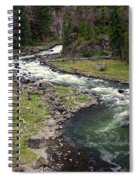Firehole River 2 Spiral Notebook